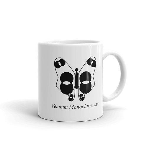 Datavizbutterfly - Vennum Monochromum - Mug