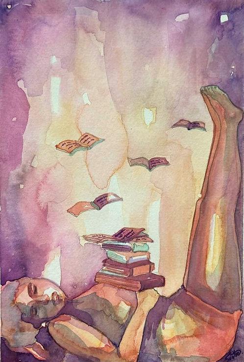 """""""Y volaban los libros"""""""