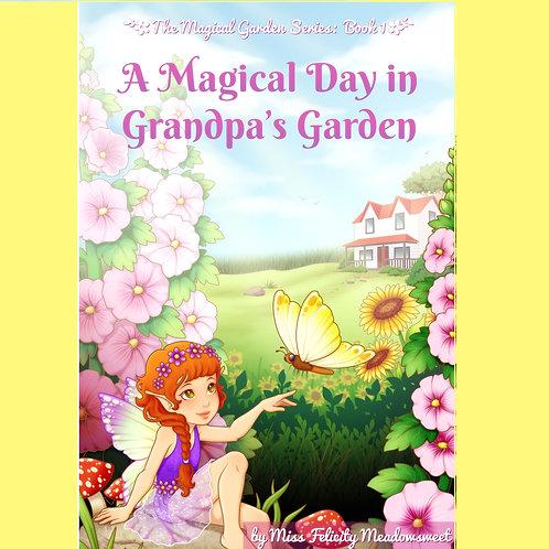 eBook - A Magical Day in Grandpa's Garden
