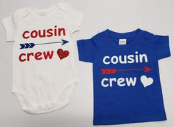 Cousin Crew infant and toddler