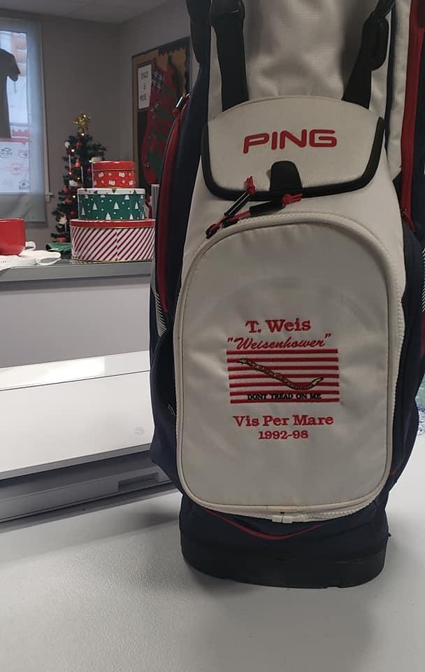 golf bag embroidery