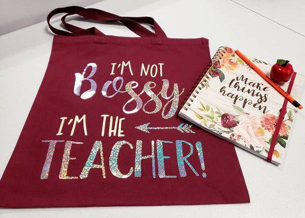 Teacher book bag