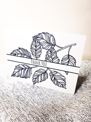 Thank You Card | Greeting Card