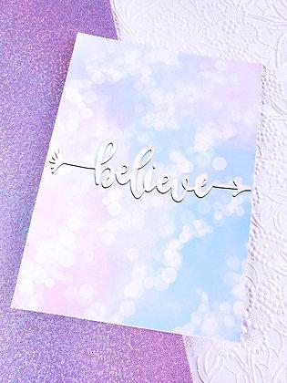 Illustration | Believe | Cotton Candy Dream | Art Print