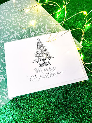 Merry Christmas | Christmas Tree | Greeting Card