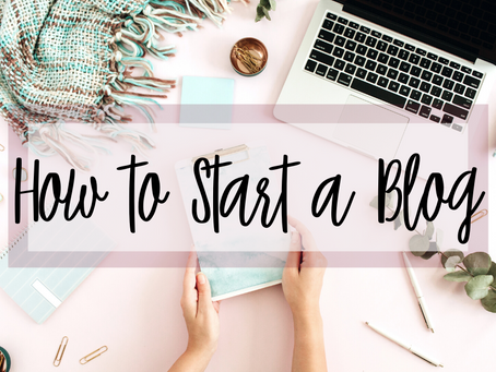 Your FREE Comprehensive Guide to Starting a Blog and Being Successful in 2021