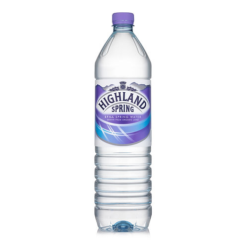Highland Spring Still water (PET) 1.5L