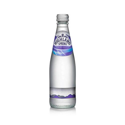 Highland Spring Still water (Glass) 330ml