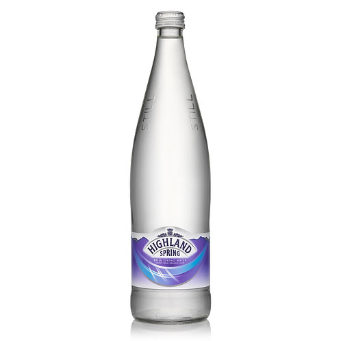 Highland Spring Still water (Glass) 750ml
