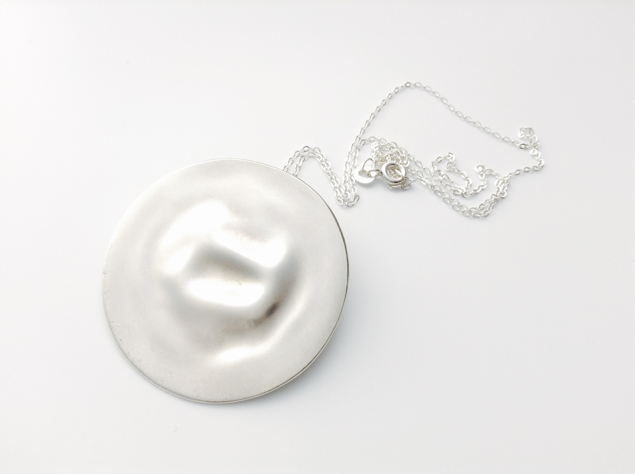 Floating Spoon Necklace