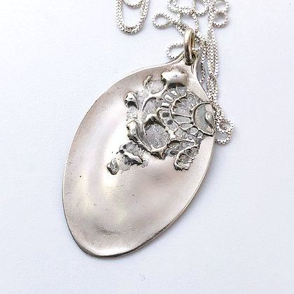 copy of Embossed Spoon Necklace