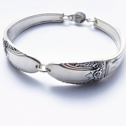 Large Bracelet with snap clasp