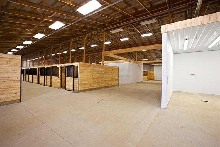 Grange Equine Center Stalls