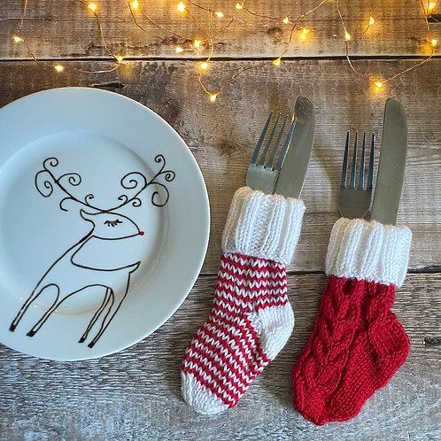 Christmas Cutlery Holders
