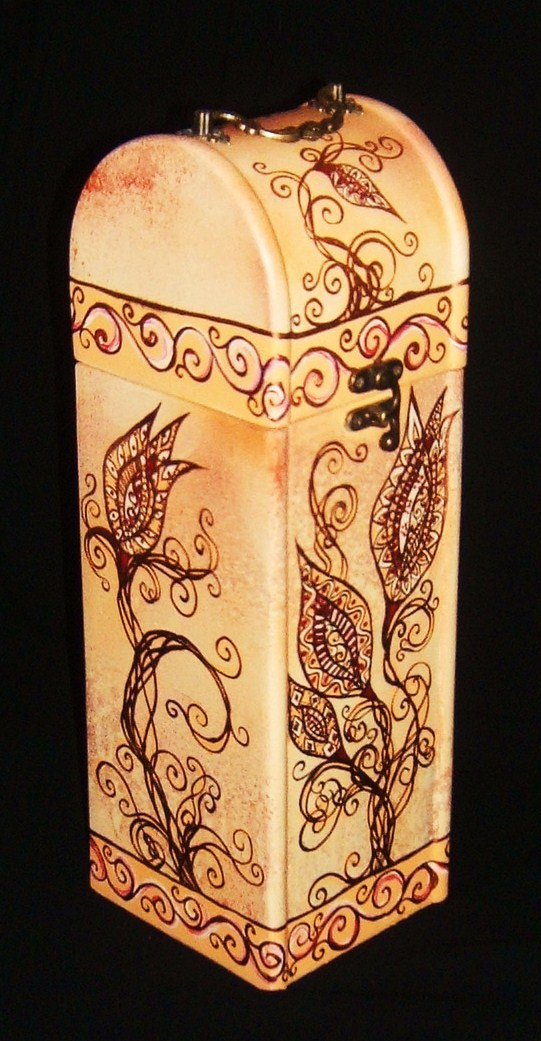 Gigi Art - Wine Boxes, Indian Style
