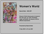 Nasrah Nefer. Exibition 2021. Women's Wo