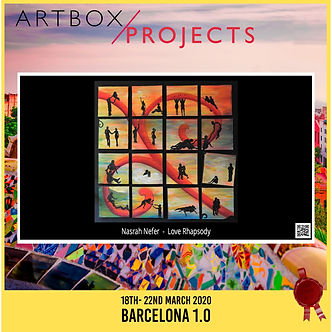 Artbox/Projects Exhibition Barcelona 1.0   18. - 23. March 2020