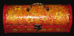 Gigi Art - Wine Boxes, Flower Design