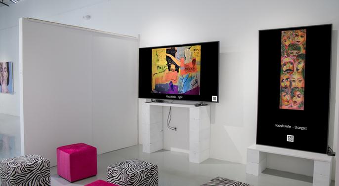 Nasrah Nefer in Art Weeks Miami 2019