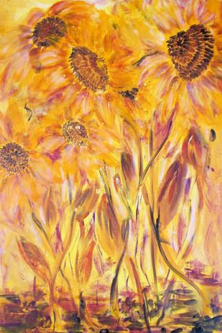 Sonnenliebe 50x70x2cm Acryl
