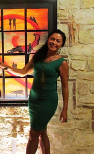 Nasrah Nefer, an international experienced and awarded artist