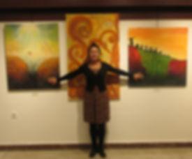 Nasrah Nefer, Malerin,Designerin, Webdesignerin. Besuchen Sie Ihre Online Gallery GIGI ART GALLERY.
