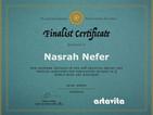 Finalist Certificate Artavista World Wide Magazin Contest.jpeg
