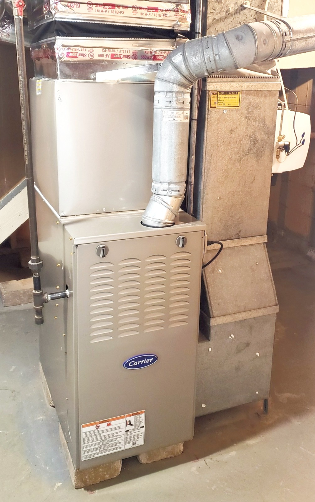 Carrier 80% Furnace Installed in Beverly Hills, MI