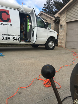 CMC Cleaning a Drain in Warren MI