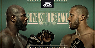 UFC Fight Night: Rozenstruik vs Gane
