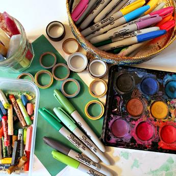 Детская галерея «Изопарк»  приглашает на новгодние мастер-классы
