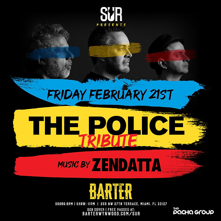 The Police Tribute at Barter Wynwood