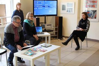 Выставка Центра детского и юношеского творчества г.Хювинкяя