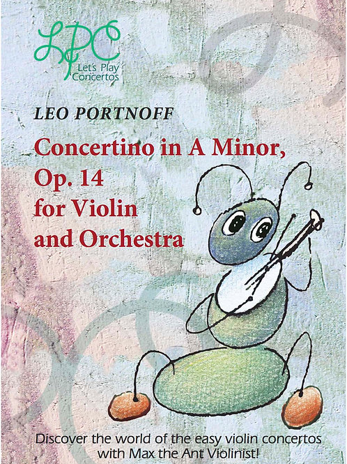 Leo Portnoff: Concertino in A minor, op.14 for Violin and Orchestra