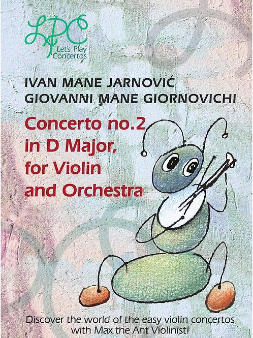 Ivan Mane Jarnović: Concerto no.2 in D major for Violin and Orchestra