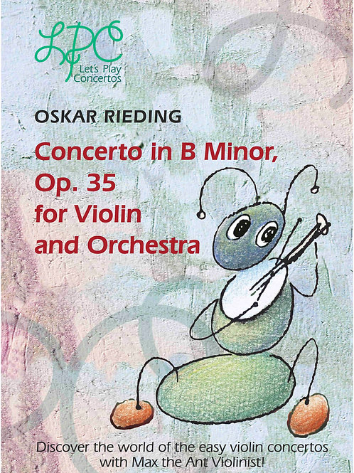 Oskar Rieding: Concerto in B minor op.35 for Violin and Orchestra