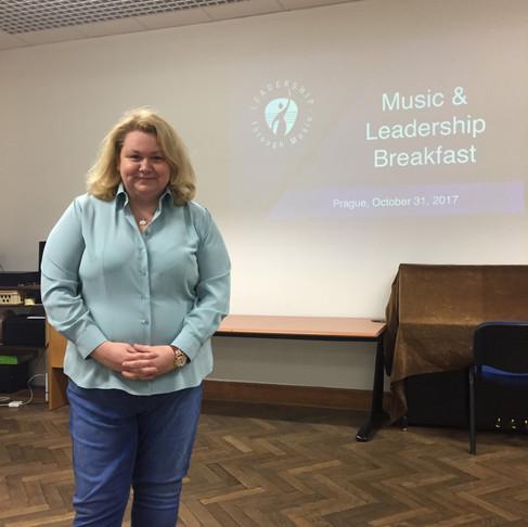 1st Music & Leadership Breakfast