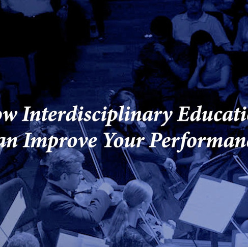 How Interdisciplinary Education Can Improve Your Performance