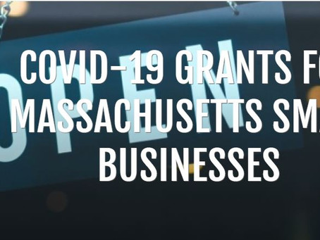 Grants for Massachusetts Small Business