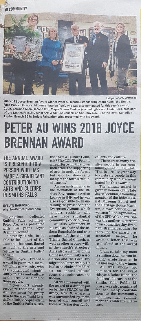 PeterAuNewspaperWriteUp2018.jpg