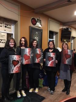 Paint evening Feb12 2018