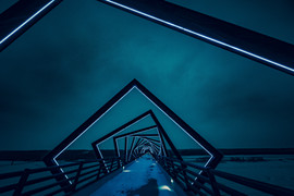 abstrakte Brücke
