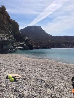 Afternoon on Agali beach