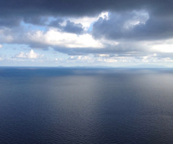 Morning view in September