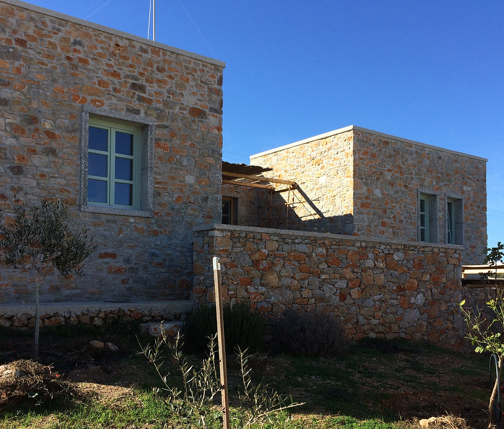 Front side of house nr 3