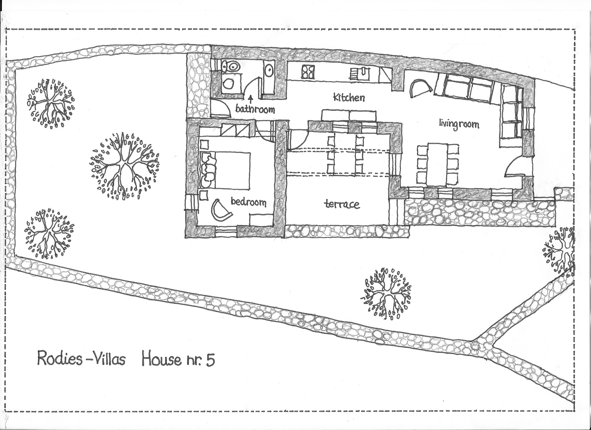 Ground floor drawing