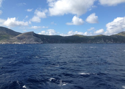 Folegandros from the sea-side