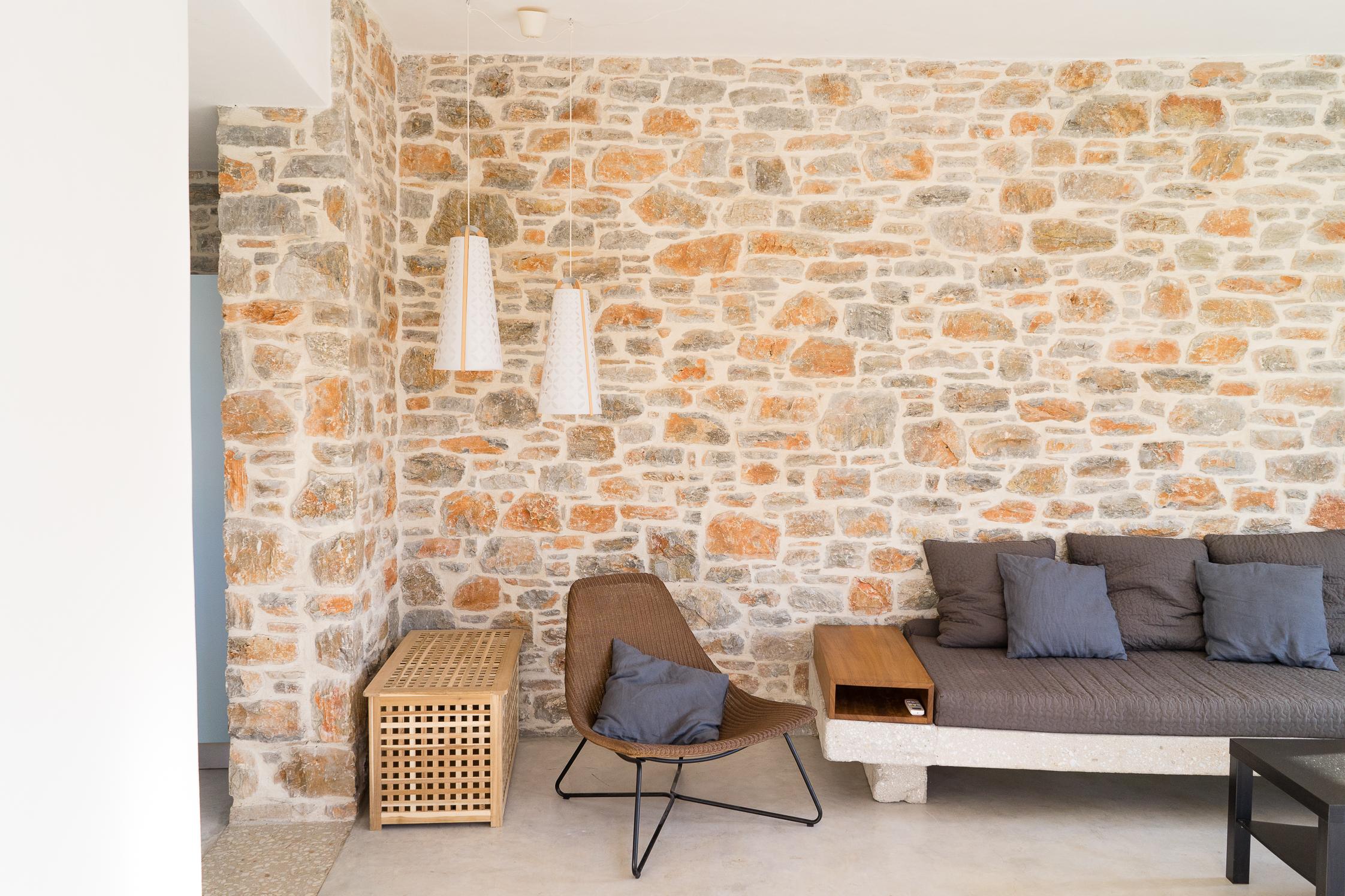 Indoor stonework