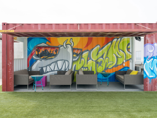 Graffiti Cabanna