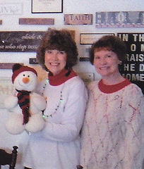 SISTERS and snowman.jpg